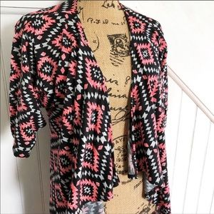 Lularoe | Aztec Print Shirley Kimono